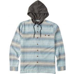 Billabong Mens Baja Flannel Shirt Front View